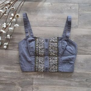 UO Festival Style Crop Top!
